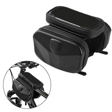 EVA Bicycle Bags Frame Front Head Top Tube Bag Waterproof Double Pouch for Phone Outdoor Cycling Accessories