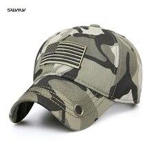 SWYIVY Men Women Plain Curved Sun Visor Baseball Cap Hat Fashion Camouflage Adjustable Caps Unisex