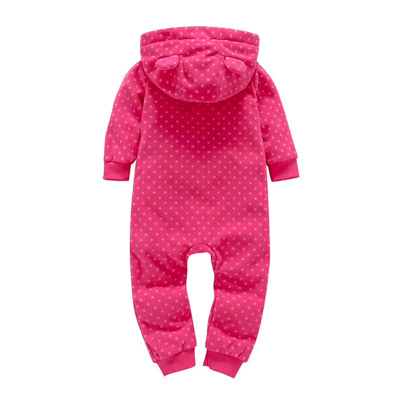 Hae7f3686b94842ef8a889c4e3042cbc7m 2019 Fall Winter Warm Infant Baby Rompers Coral Fleece Animal Overall Baby Boy Gril Halloween Xmas Costume Clothes Baby jumpsuit