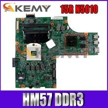 N5010 CN-06V89F 06V89F 0VX53T Motherboard Laptop Mainboard para DELL Insprion 15R N5010 48.4HH01.011 HM57 DDR3 100% Teste OK