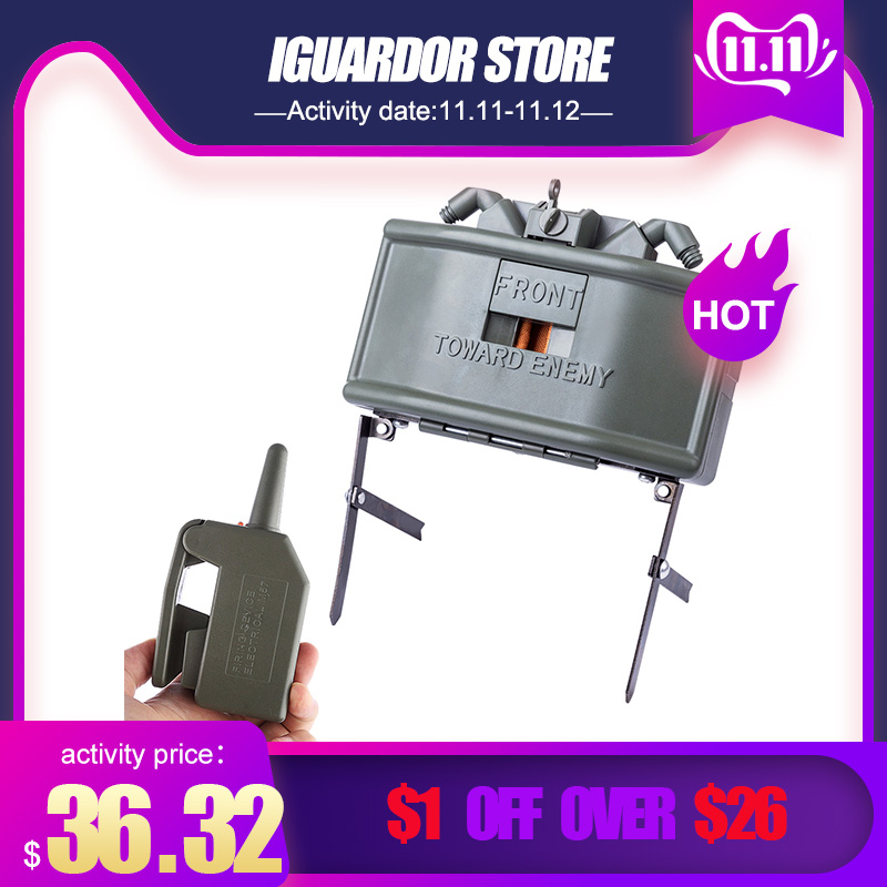 Electric Remote Control Claymore Water Beads Clip Water Bullet Ball Bomb Outdoor CS Airsoft Tactical Equipment 2019 Hot Sale