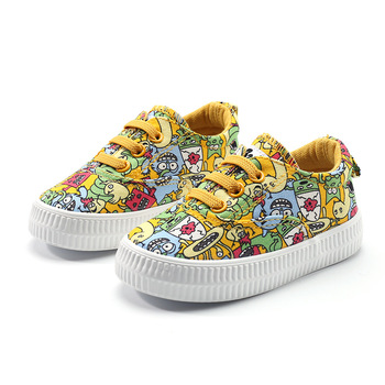 babaya Baby Shoes Boys 2020 Autumn New 1-3 Year Old Children Canvas Shoes Fashion Casual Breathable Girls Toddler Shoes babaya children shoes 2020 autumn new cute cartoon toddler canvas shoes kids comfortable boys baby girls baby casual shoes