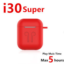 Baru I30 Super Tws Wireless Earphone 6D Super Bass Bluetooth 5.0 Earphone PK I10 I12 I200 I9000 Twsi30(China)