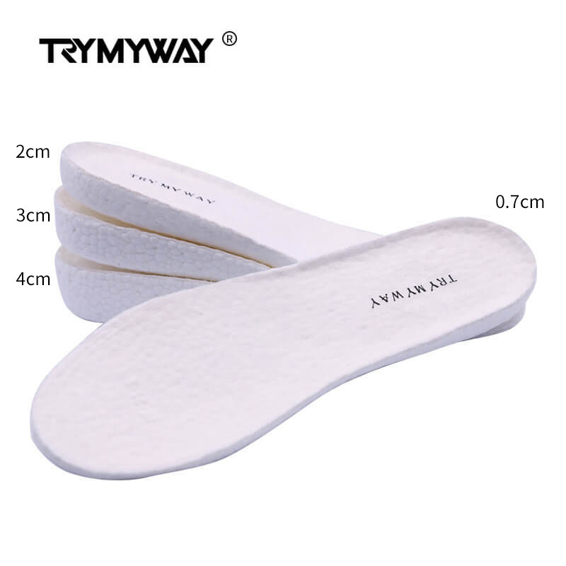 Height increase insoles for men//women 2//3//5 cm up invisiable arch support