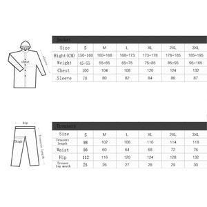 Image 2 - Chubasquero deportivo para hombre y mujer, traje impermeable para pescar al aire libre, a la moda, Unisex, para montar en motocicleta, impermeable, para adultos
