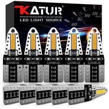 Katur 10x Error Free T10 LED W5W 2825 Car Interior Lights Parking Lamp For Volvo XC90 S60 XC60 V70 S80 S40 V40 V50 XC70 V60 C30