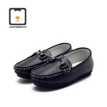 أطفال جلد حذاء كاجوال للبنات بنين الأطفال الأحذية الفتيان أحذية من الجلد