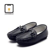 Çocuklar deri rahat ayakkabılar kız erkek çocuk ayakkabı erkek deri ayakkabı