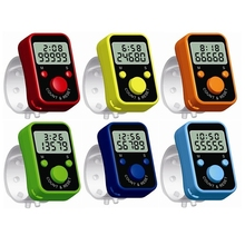 Display Chanting Counter Weave-Tool Time-Ring Digital Knitting Electric Register LCD