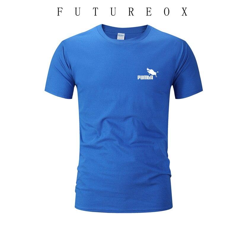 2020 Summer New Men's T-shirt Short-sleeved 100% Cotton Printed Jersey T-shirt Men's Fitness T-shirt European And American Sizes