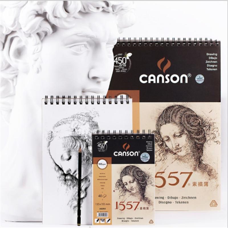 canson profissional 155g m2 artista desenho esboco 01