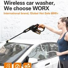 Cleaner Spray-Gun Car-Washer Worx 20v Hydroshot WG630E.5 Rechargeable High-Pressure Brushless
