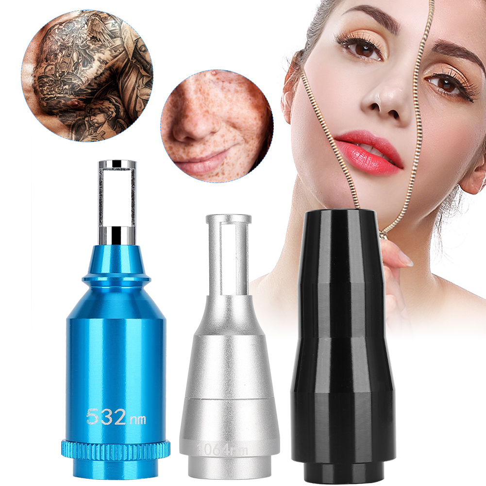 Professional Aluminum Alloy Laser Probe Handle Head for Tattoo Removal Machine Tools Instrument Parts Accessories Tattoo Supplie