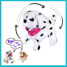 18CM Battery Operated Somersaulting Electronic Pets Flip Ove