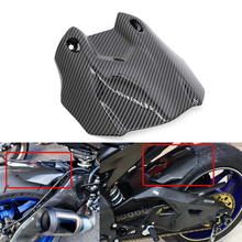 For YAMAHA YZF-R1 2015 2016 Carbon Fiber Rear Tire Hugger Fender Mudsling Mudguard Mudflap R1 Mud Flap Splash Guard YZFR1 15 16