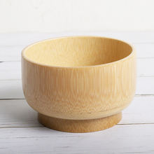Деревянные чаши Бамбуковая деревянная чаша для домашнего использования