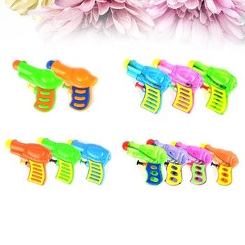 10 sztuk Mini Summer Beach gra w gry zabawne pistolety na wodę pistolety na wodę Squirt Guns do walki z wodą nad morzem tanie i dobre opinie CN (pochodzenie)
