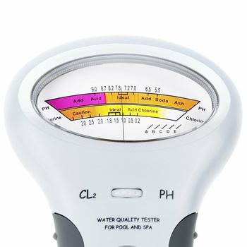 Spot przenośny Monitor cyfrowy Ph Tester miernik wody analiza chloru basen zestaw testowy vj-drop tanie i dobre opinie
