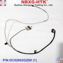 Original novo cabo lcd para Dell Inspiron15 5565 5567 série BAL20 EDP cabo TS IR D8C2T 0D8C2T DC02002GZ00 40pin
