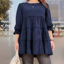 2021 plissado blusa feminina zanzea senhoras elegantes camisas casual puff manga branca topos plus size 5xl outono o pescoço blusa femininas