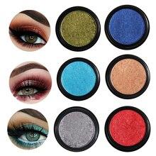Hot Makeup Eye Shadow Soft Glitter Shimmering Colors Eyeshadow Metallic Cosmetic For All Kinds Of Skin paleta de sombra