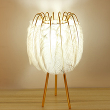 FSS Feather Table Lamp…