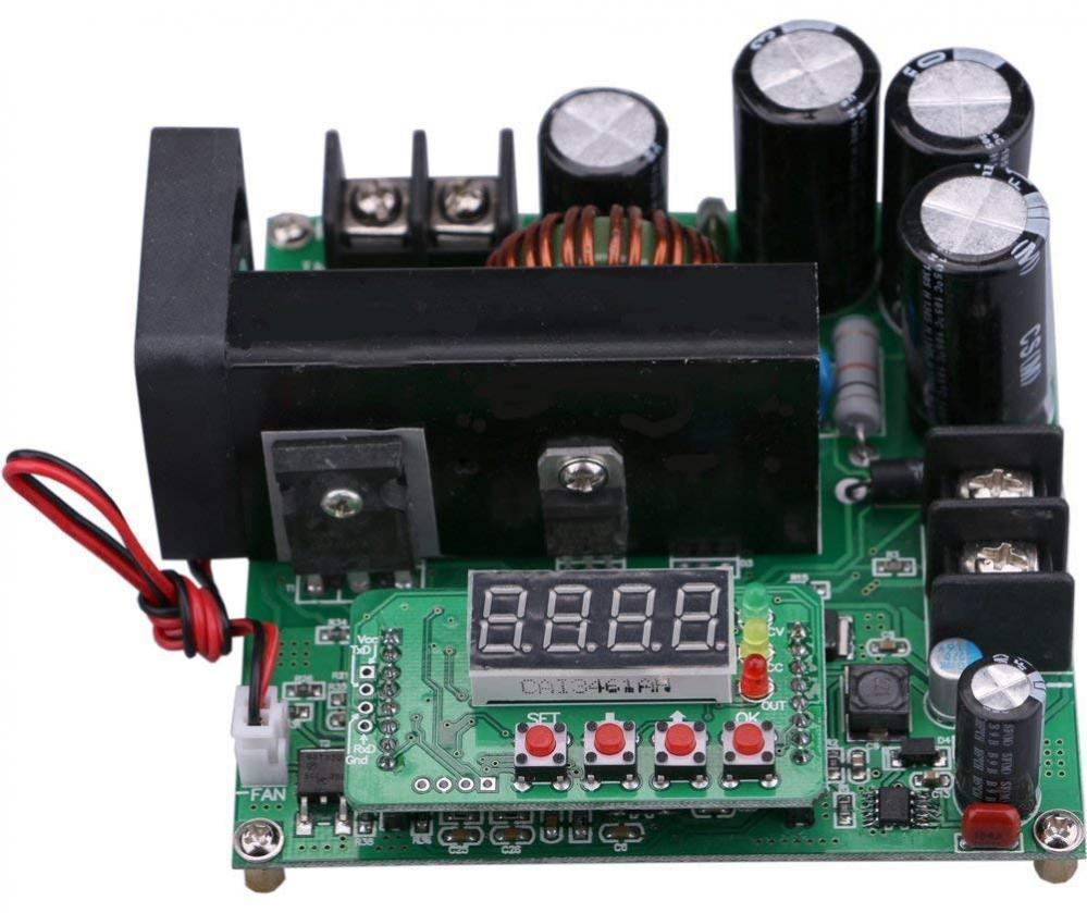900W Digital DC-DC Output 10-120V 15A Step-up Power Module Boost Converter