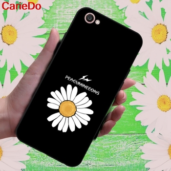 Carie-Daisy 2 Soft TPU Case Cover For Vivo Y71 Y83 Y81 Y51 Y93 Y97 Y91 Y95 V11i Z3i Z3 X21UD Z5X X27 V15 S1 Pro image