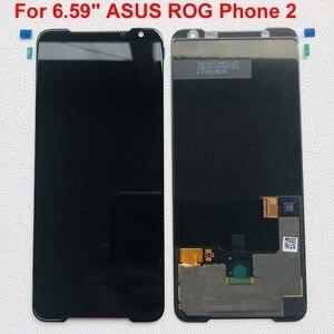 """Image 2 - のためのオリジナル新 6.59 """"asus rog 電話 2 Phone2 phoneⅱ ZS660KL amoled 液晶表示画面 + タッチパネルデジタイザアセンブリ修理"""