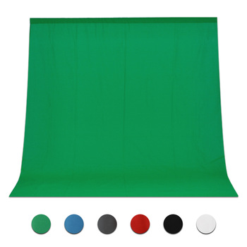 Hot Sale Green Color Cotton Non-pollutant Textile Muslin Photo Backgrounds Studio Photography Screen Chromakey Backdrop Cloth kate photography backdrops smart watch wearable devices green screen chromakey backgrounds for photo studio