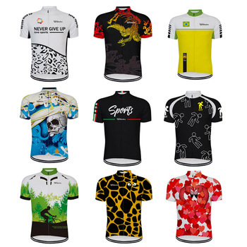 цена на 2020 Cycling Jerseys Men Summer Short Sleeve Ropa Ciclismo bicycle Clothing Sport Bike Clothes Cycling Jersey Short Sleeve