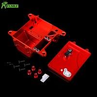 Alloy CNC Battery Box Set Fit for 1/5 HPI ROFUN BAHA ROVAN KM BAJA 5B 5T 5SC Rc Car Toys Games Parts
