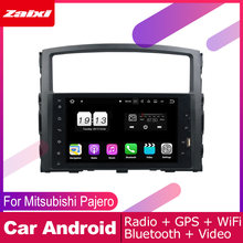 ZaiXi For Mitsubishi Pajero V97 2006-2015 Car Android Multimedia System 2 DIN Auto Player GPS Navi Navigation Radio Audio WiFi(China)
