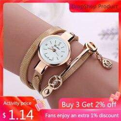 Uhren mujer 2020 Frauen Metall Strap Armbanduhr Armband quarzuhr Frau Damen Uhren Uhr Weibliche Mode Frauen Uhren