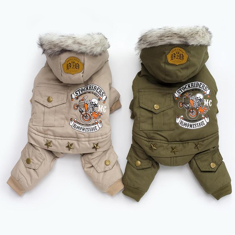 Одежда для маленьких собак, осенне зимнее теплое пальто для щенков, куртка с капюшоном для чихуахуа, йоркширский комбинезон, одежда для собак|Пальто и куртки для собак|   | АлиЭкспресс