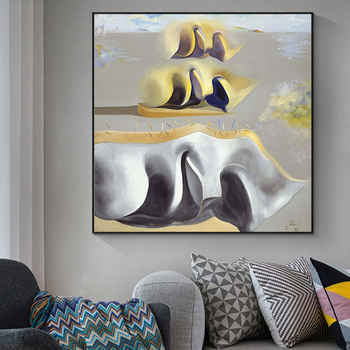 Salvador Dali The mystery of Dara's paintings Gala Canvas Painting Posters Prints Wall Art Picture for Living Room Decor Cuadros 3