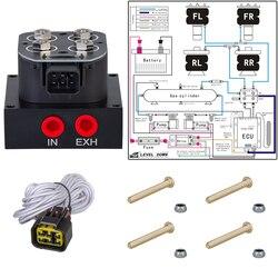 HellaFlush pneumatyczna amortyzacja zaworu elektromagnetycznego  zawór elektromagnetyczny 12v zawór zawieszenia pneumatycznego SMV 01|Części amortyzatorów|   -