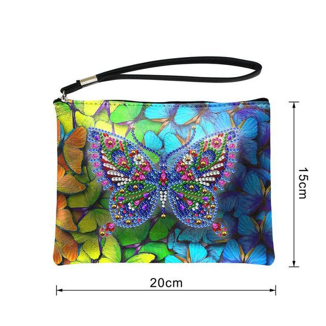 Colorful DIY Butterfly Handbag