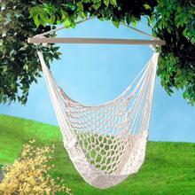 Portable Hammock Chair Wall Hang Swing Rope Outdoor Indoor Garden Kids Seat Fashionable Home Garden Outdoor Hammock Swings