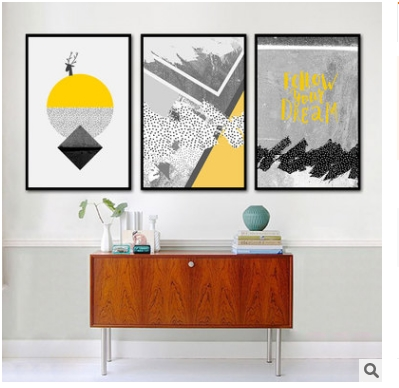 Nordic Abstract Creative Living Room Decoration