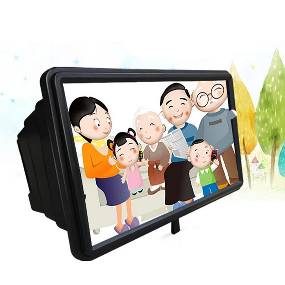 Hd 3D Screen Magnifying Glass Eye Protection F2 Watching Tv Video Lazy Bracket Hd Mobile Phone Screen Amplifier