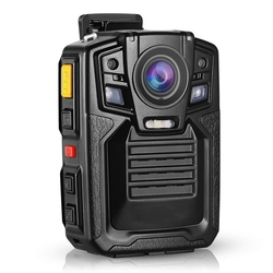 HD 1296P A7 64GB Wide Angle Ultra Police Security Body Worn Camera Infrared IR Recorder