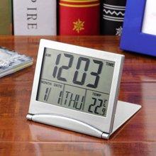 цена на Digital Calendar Alarm Clock Display Date Time Temperature Mini Desk Digital LCD Thermometer Cover
