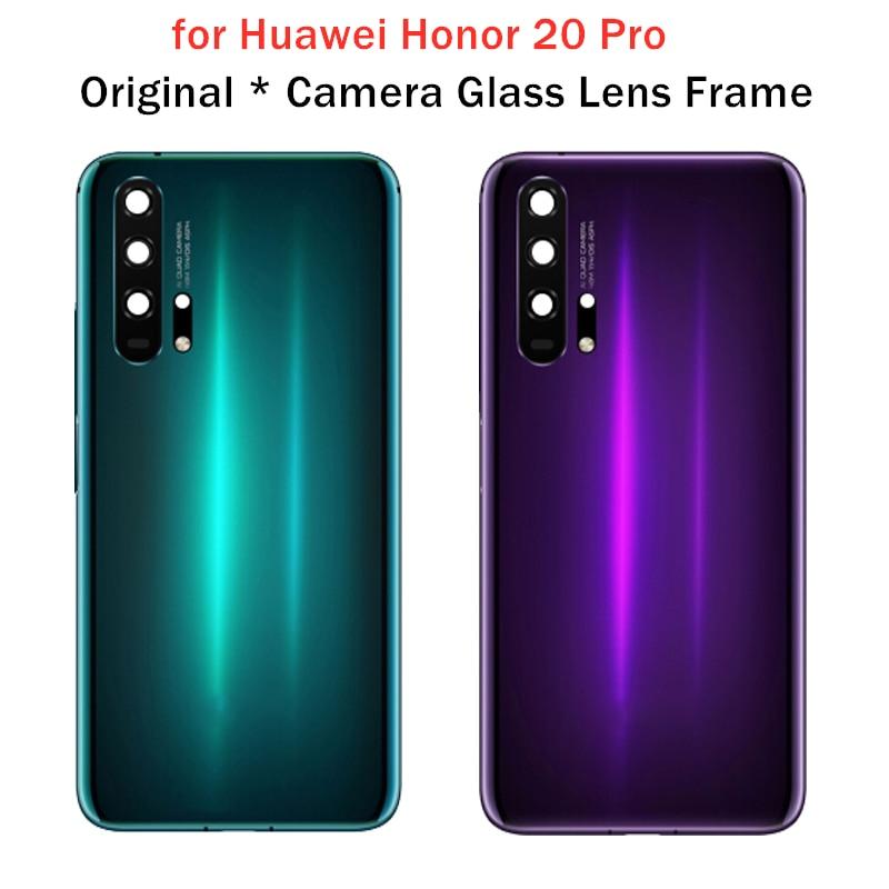 Lens-Frame Camera Glass Housing-Door Honor Original Back-Cover Repair-Spare-Parts Huawei