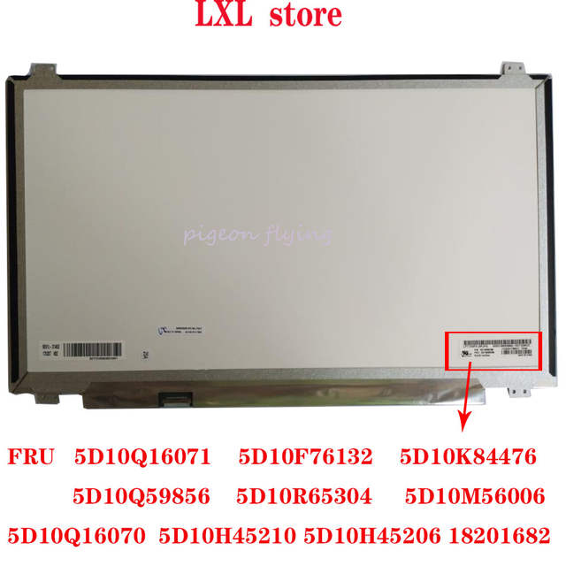 Online Shop 320 17abr Laptop Lcd Screen For Lenovo 80yn 17 3 Fhd 1920 1080 30pin Ips Fru 5d10m56006 5d10h45210 100 Test Ok Aliexpress Mobile