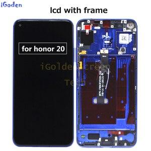 Image 3 - ต้นฉบับสำหรับ Huawei Honor 20 YAL L21 LCD Touch Screen Digitizer เปลี่ยนสำหรับ Huawei Honor 20 Pro YAL AL10 YAL L41 LCD