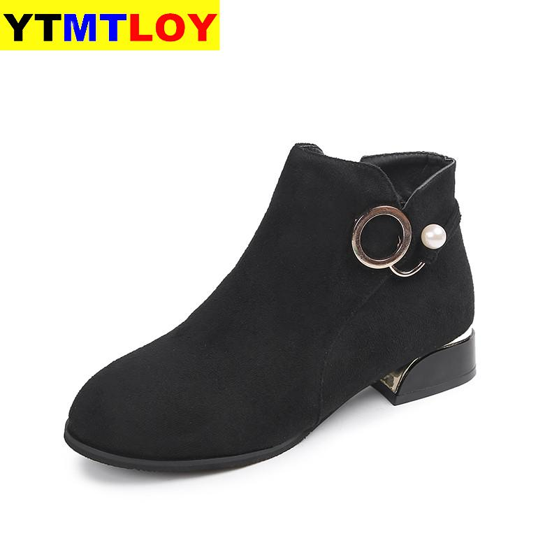 2020 Women Ankle Boots Business Short