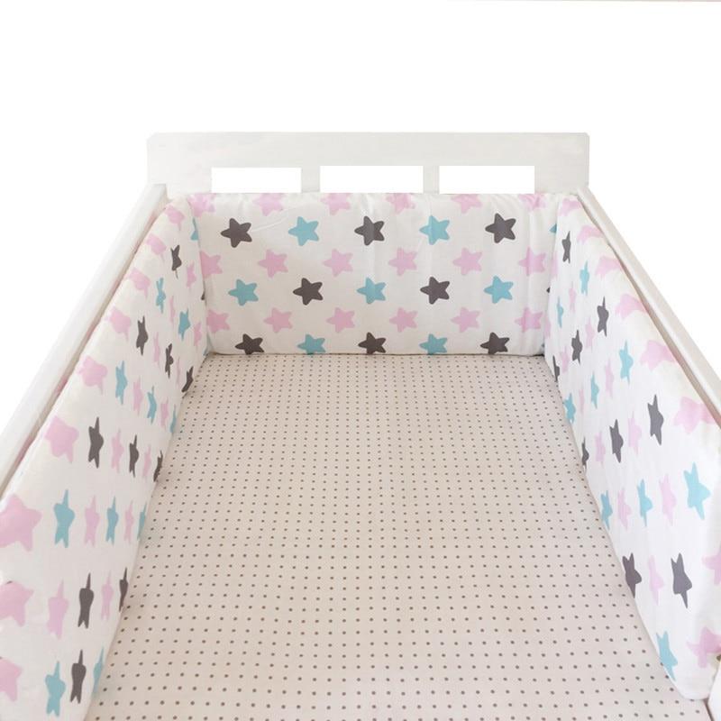 de cama do bebê (1 pçs pára-choques apenas) 200*28cm