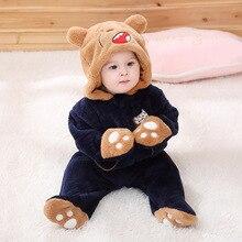 Kigurumis Baby Clothes Animal Cute Bear Romper Onesie Infant