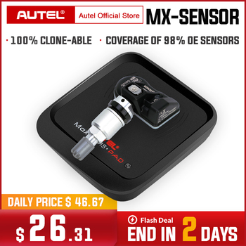 AUTEL MX Sensor 433 315 TPMS Mx-Sensor Scan Tire Repair Tools Automotive Accessory Tyre Pressure Monitor MaxiTPMS Pad Programmer